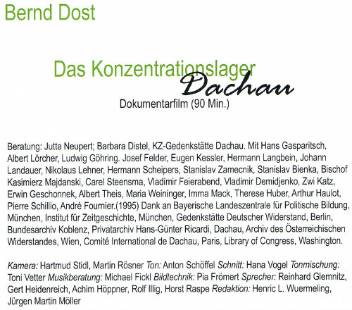 DVD-Dost credits